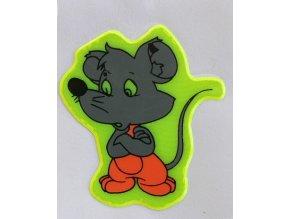 Reflexní samolepka - myška