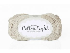 Příze DROPS Cotton light 21 - světlá béžová