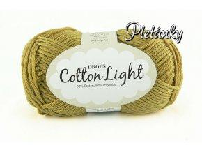 Příze DROPS Cotton light 29 - limetková