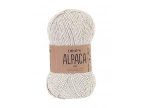 Příze DROPS Alpaca 9020 - stříbrošedá