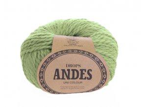 Příze Drops Andes uni colour 7320 - pistáciová