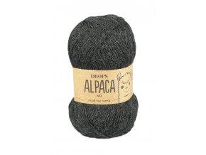 Příze DROPS Alpaca 0506 - tmavě šedá