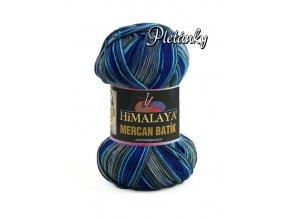 Příze Mercan batik 59517 - modrošedá