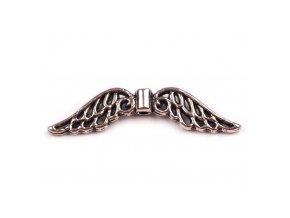 Kovová křídla 8x30mm 210828, platina