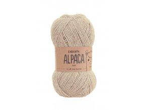 Příze DROPS Alpaca 2020 - světlá camel