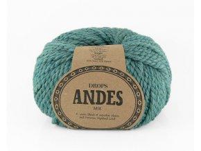 Příze Drops Andes mix 7130 - oceán