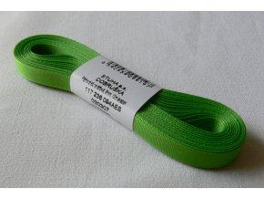 Stuha taftová 6 mm , jarní zeleň - 307