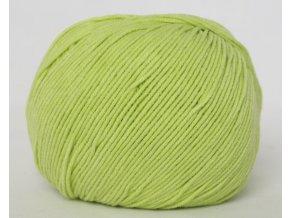 Příze Jeans 8145 světlá zelená