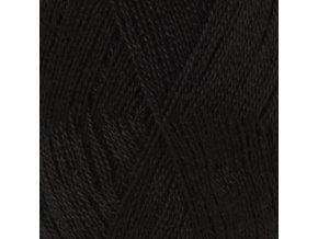 Příze DROPS Lace UNI COLOR 8903 - černá