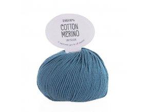Příze DROPS Cotton Merino 16 - džínová modrá