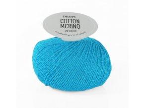 Příze DROPS Cotton Merino 24 - tyrkysová