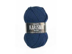 Příze DROPS Karisma 37 - tmavě šedo-modrá