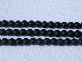 Onyx mat, kulička 4mm