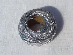 Aranžérské nitě - stříbrné
