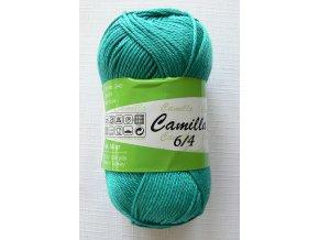 Příze Camilla 6/4, 5328 - tmavý petrol
