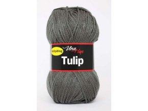 Příze Tulip 4236 - tmavá šedá