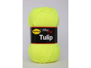 Příze Tulip 4300 -  žlutá neonová