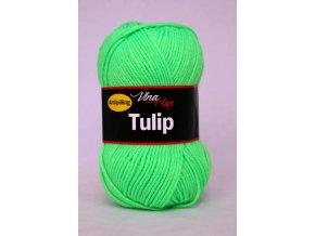 Příze Tulip 4302 -  zelená neonová