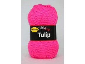 Příze Tulip 4304 -  růžová neonová