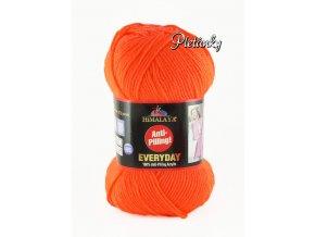 Příze Everyday 70051 oranžová neonová