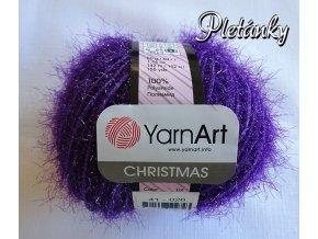 Příze Christmas 41 - fialová