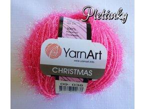 Příze Christmas 09 - růžová