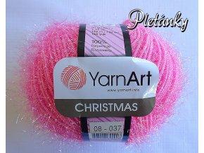 Příze Christmas 08 - růžová