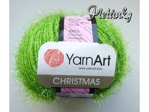 Příze Christmas 43 - zelená