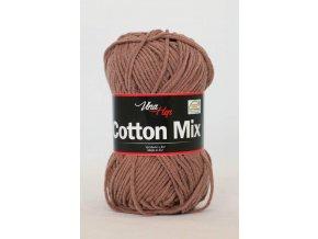 Příze Cotton Mix 8223 - hnědá