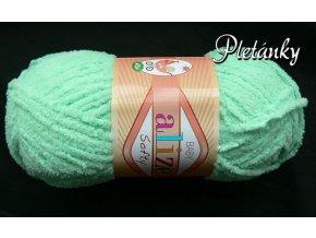 Softy - 669 - světlá tyrkysová