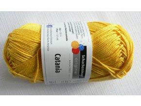Příze Catania 208 - canary (kanárkově žlutá)