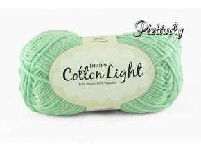 Příze DROPS Cotton light 27 - mátová