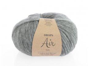 Příze Drops Air 4  šedá