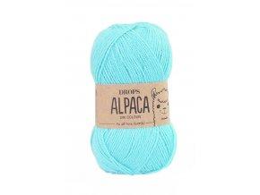 Příze DROPS Alpaca 2917 - světlá tyrkysová
