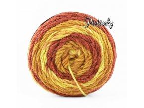 Sweet roll 1047-23/3919 - odstíny zlaté, béžové, hnědorezavé