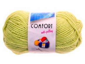 Příze Comfort 53744 - jarní zelená