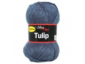 Příze Tulip 4114 - kouřově modrá