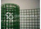Pletivo na Voliéry PVC; oko 25x25 mm; drát 2,0 mm svařované