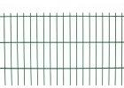 Plotový panel 2d pvc - výška 123 cm, drát 5,0 mm