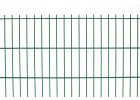 Plotový panel 2d pvc - výška 243 cm, drát 5,0 mm