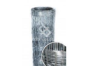 Lesnické uzlové pletivo Zn výška 125 cm, 1,6/2 mm, 13 drátů
