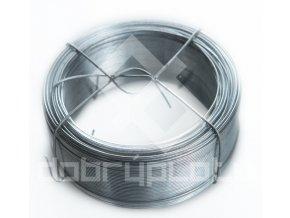 Vázací Zn drát pozinkovaný síla 0,8 mm , délka 100 m