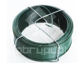 Vázací drát PVC síla 1,0/1,4 mm , délka 50 m zelený