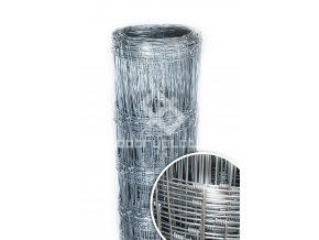 Lesnické uzlové pletivo Zn výška 125 cm, 2,0/2,8 mm, 13 drátů