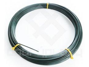 Napínací drát PVC, síla drátu 3,2 mm, délka 52m - zelený