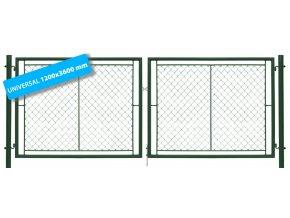 Brána UNI 120x360 Na plot