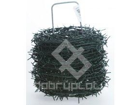 Ostnatý drát - PVC, délka 100 m