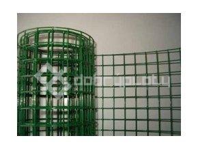 Pletivo na Voliéry PVC; oko 19x19 mm; drát 1,4 mm svařované