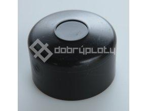 Čepička na sloupek černá 60mm