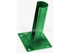 Patka na sloupek 38 mm zelená RAL6005